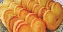 Palmeritas de queso y crema
